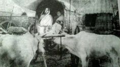 Holy Mother Shri Sarada Devi in a Bullockart Ram Hanuman, Indian Saints, Swami Vivekananda, Akashic Records, Ascended Masters, Divine Mother, Ganpati Bappa, Sai Ram, God Pictures