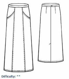 Faldas Tipo A | EL BAÚL DE LAS COSTURERAS
