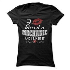 I kissed a MECHANIC - #jean shirt #hoodie and jeans. I WANT THIS => https://www.sunfrog.com/LifeStyle/I-kissed-a-MECHANIC.html?68278