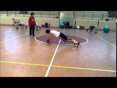 Preparazione Fisica Etrusca Basket S. Miniato: Esempi di esercizi per Forza e Propriocezione Spalle - YouTube