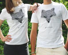 Organic Fuchs-Shirt für Frauen & Männer