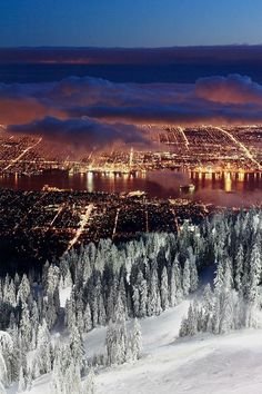 Vancouver...check! Although I never made it in snow...