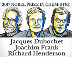 The 2017 Nobel Prize in chemistry awarded to Jaques Dubochet Joachim Frank and Richard Henderson for the development of cryo-electron microscopy. School Of Engineering, Chemical Engineering, Corpus Christi College, Nobel Prize In Chemistry, Prix Nobel, Nobel Prize Winners, France 24, Chemical Industry, Nobel Peace Prize