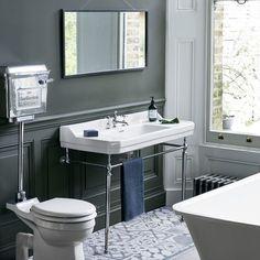 Traditional Bathroom - Design and Installation Bathroom Trends, Chic Bathrooms, Amazing Bathrooms, Bad Inspiration, Bathroom Inspiration, Bathroom Styling, Bathroom Interior Design, Burlington Bathroom, Edwardian Bathroom