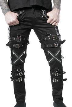 124765a1 Dead Threads Bondage Pants. Punk FashionFashion PantsGothic ...