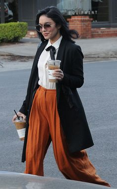 Vanessa Hudgens from The Big Picture: Today's Hot Pics  Time for coffee! The actress grabs two cups of joe in West Hollywood.