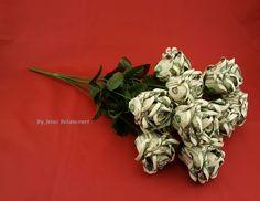 Beautiful Money Origami Roses, Made of Real Dollar Bills