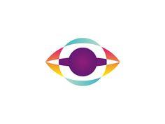 Eye   planet   ufo logo design symbol by alex tass