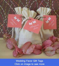 Wedding Favor Gift Tags on Pinterest Wedding Favor Tags ...