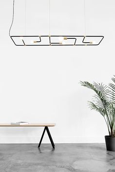 "floraest: "" sturbock: ""Shop Light on sturbock.me/ "" Apply: MY FAVES Black And White Interior, Simple Interior, Interior Architecture, Interior And Exterior, Cool Light Fixtures, Minimal Living, European Home Decor, Interior Design Inspiration, Furniture Inspiration"