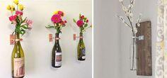 Für alle, die gerne basteln und für die, die ihre hübschen geleerten Flaschen gerne weiterverwenden wollen: Unsere Top 10 der besten do-it-yourself (DIY) Flaschen-Recycle-Ideen. Erfahrt im Folgenden, wie Ihr mit wenig Arbeit Eure alten Flaschen ins rechte Licht rückt! 1. Einfach aber effektiv: Flasche als Kerzenhalter Oft genug sieht man schön geformte Spirituosenflaschen in Bars, die zu einem Kerzenhalter umfunktioniert wurden. Warum auch wegschmeißen die hübschen Flaschen? Lieber Kerze…