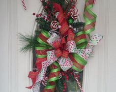 CHRISTMAS CAME EARLY Christmas Wreath by SparetimeSpecialties