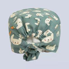 Scrub Hat Patterns, Craft Patterns, Knitting Patterns, Sewing Patterns, Sewing Crafts, Sewing Projects, Scrub Hats, Bandeau, Hat Making