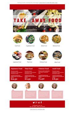 33 Best Restaurant Email Design Images Website Layout Email