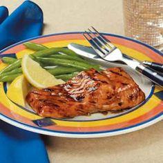 Glazed Salmon ~ Taste of Home