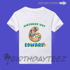 Boys Birthday Boy ShirtsEmoji