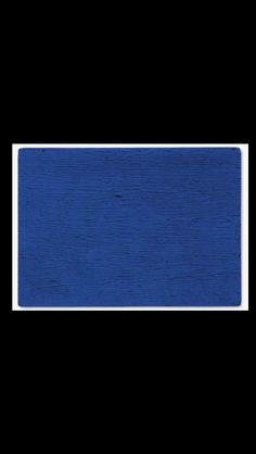 """Yves Klein - """"IKB 64"""", 1957 - Dry pigment and synthetic resin on canvas laid down on panel - 55,6 x 78 cm"""