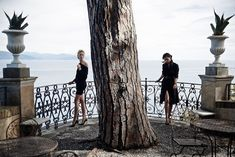 EDITORIAL: Adriana Lima and Karolina Kurkova in Vogue Brazil November 2014 by Peter Lindbergh | IWC Watches Portofino Part 1 - Sweet Life - Top models; Adriana Lima and Karolina Kurkova embody the understated elegance of Portofino to celebrate a newly launched line of watches, all inspired by the most exclusive spa of the Italian Riviera, captured by Peter Lindbergh.   As part of Swiss luxury watch campaign (IWC Portofino) these selected image are showcased in November issue Vogue Brazil…