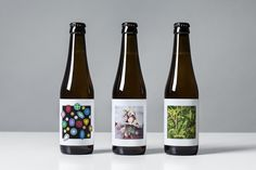 Lundgren+Lindqvist: O/O Brewing S/S 2015 Packaging