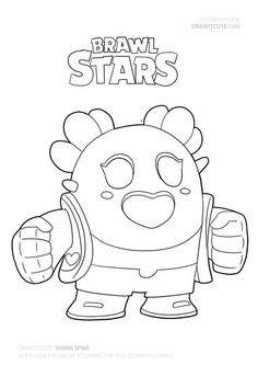 How to draw Sakura Spike super easy Star Coloring Pages, Boy Coloring, Coloring For Kids, Coloring Sheets, Drawing For Beginners, Drawing For Kids, Drawing S, Blow Stars, Star Wallpaper