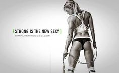 Strong is the new sexy sexy quotes quote  - http://myfitmotiv.com - #myfitmotiv #fitness motivation #weight loss #food #fitness #diet #gym #motivation