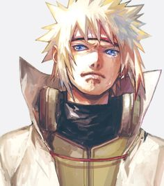 Yondaime Hokage Namikaze Minato | I guess he knows what the price will be...