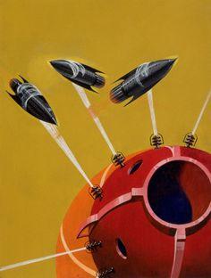 MHoward V. Brown. Galactic Patrol. 1937. / agic Transistor