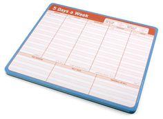 ThinkGeek :: Tear Away Planner Mousepad