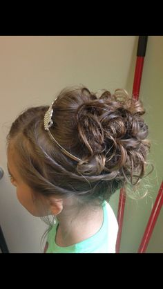 Little girl Updo