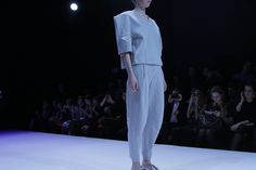 Central Saint Martins graduate Milla Berillo brings a prêt-a-porter lux touch to St. Petersburg Fashion Week.