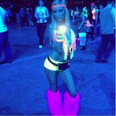 fluorescent-raver