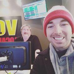 First radio interview, check!