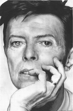 David Bowie♥ Celebrity pencil drawings by the artist Matthew Leader. David Bowie♥ Celebrity pencil drawings by the artist Matthew Leader. Pencil Portrait Drawing, Realistic Pencil Drawings, Pencil Drawing Tutorials, Horse Drawings, Pencil Art, Painting & Drawing, Art Drawings, Drawing Portraits, Graphite Art