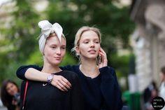 #New on #STYLEDUMONDE  http://www.styledumonde.com/  with @sashaluss #SashaLuss @nastyasten #NastyaSten at #paris #hautecouture #fashionweek #pfw #fall14 #outfit #ootd #streetstyle #streetfashion #model #modeloffduty #streetchic #streetlook #picoftheday #weloveit #fashion #mode #style