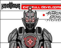 "Check out new work on my @Behance portfolio: ""Antakusuma Exoskull""…"