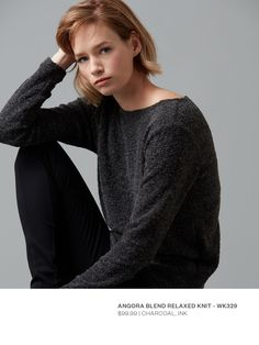 Women's Winter Blues #Angora #Wool #Knitwear #Warm #Sweater #Jumper #Womens #Fashion #WildSouth #NewZealand