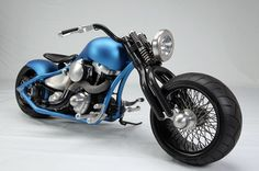 The Glasgow Kiss is a creation inspired by a 1945 Harley Flathead by ...