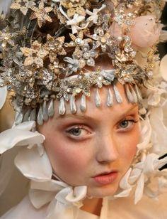 christian lacroix headpiece.