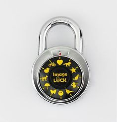 ImageLOCK Combination Lock – Patented Combination Lock (No Administrat