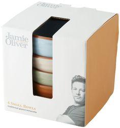Jamie Oliver Schüssel Set 4 Tapasschüsseln aus Terracotta Vintage Look 4 x 11 cm | Geschenkartikel-Shopping #JamieOliver                                                                                                                                                      Mehr