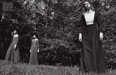 Josephine, Manuela & Tess for Vogue Italia October 2013