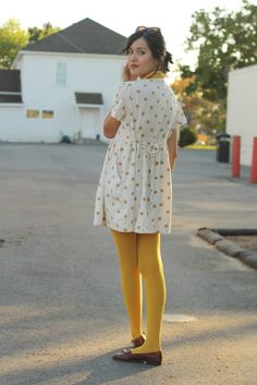 Love me some mustard yellow. http://www.milkteeths.blogspot.ca/
