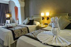 Grand Palladium Riviera deluxe room #GrandPalladium #RomanceTravel   Follow us on Instagram @RomanceTravel 💋 Grand Palladium Riviera Maya, Bed, Room, Furniture, Instagram, Home Decor, Bedroom, Decoration Home, Stream Bed