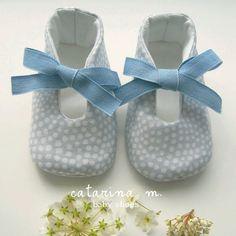 PATRÓN zapato de bebé modelo n º 1 dos variantes