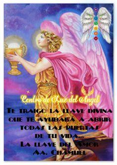 🌸💖🌸 #Mensaje del #ArcángelChamuel: Vengo en tu ayuda para aperturar el amor en ti y activar su verdadera esencia para que vibres en amor y encuentres al amor en todos a tu alrededor...Te recuerdo que la llave divina para abrir todas las puertas de tu vida...es la llave del amor 🌸💖🌸 #Apertura #Activa #LaEsencia #DelAmor #EnMi #Arcángel #Chamuel #ParaDarAmor #ParaRecibirAmor ✨ Taller de los Arcángeles: http://www.centrodeluzdelangel.com/taller-de-arcangeles ✨ Viaje y encuentro espiritual