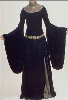 Robe de Eowyn. Le Seigneur des anneaux