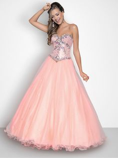 A ball gown by Pink Blush 5240