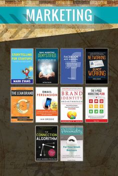 The Ultimate Startup Bundle contains 58 inspirational business books that will shift your mindset. When you're bootstrapping a startup, it's normal to have times when you feel stuck. Book Club Books, Book Lists, Good Books, Books To Read, Book Clubs, Inbound Marketing, Content Marketing, Marketing Books, Business Marketing
