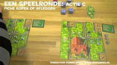 Online speluitleg Dierentuin Bordspel