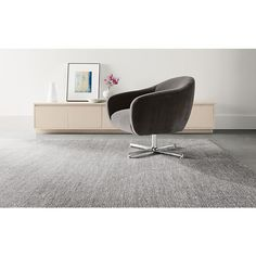 Carlo Swivel Chair   Modern Accent U0026 Lounge Chairs   Modern Living Room  Furniture   Room